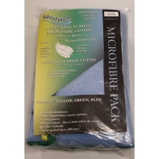 Aquatouch General Purpose Microfibre Cloths - 3 Pack